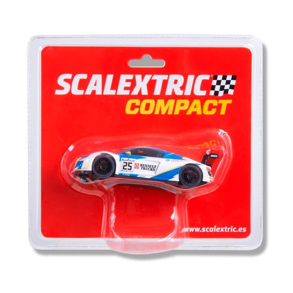 Coche de Scalextric Compact Audi R8 LMS GT3 Huet