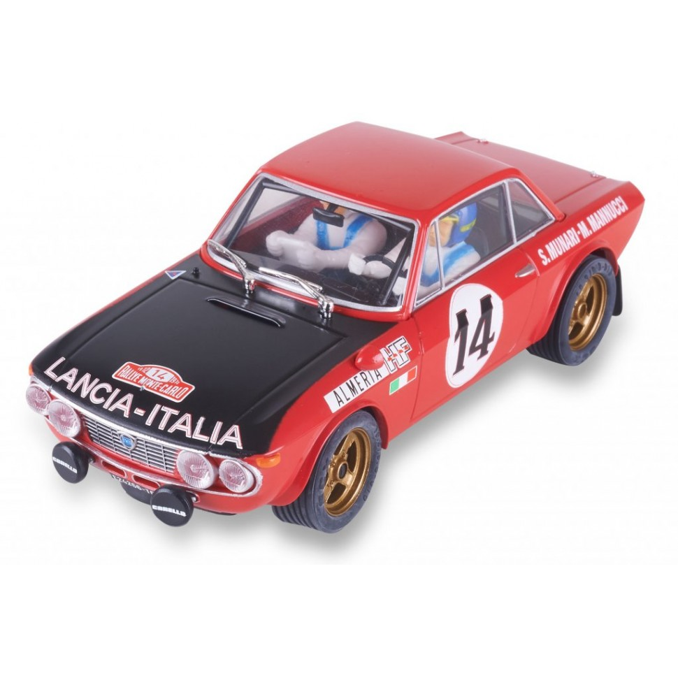 Coche de Scalextric Analogico Lancia Fulvia HF Munari Montecarlo