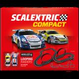 Circuito de Scalextric Compact Looping Raiders Wireless