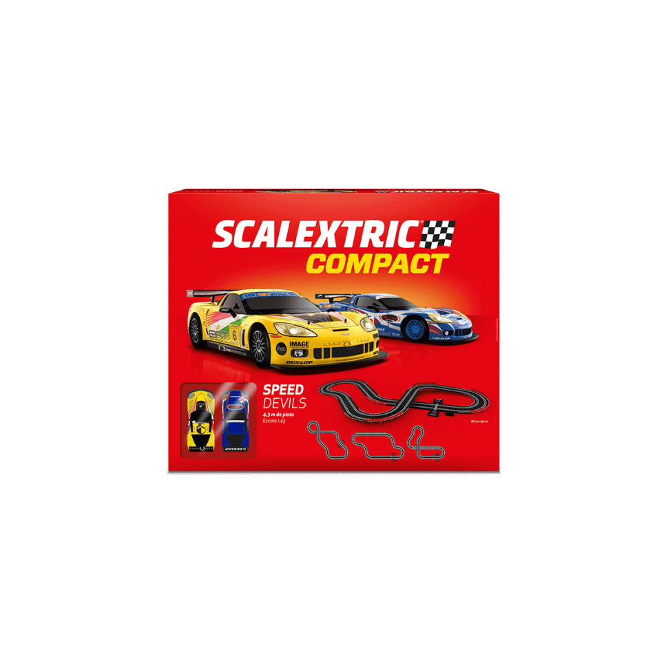 Circuito de Scalextric Compact Speed Devils
