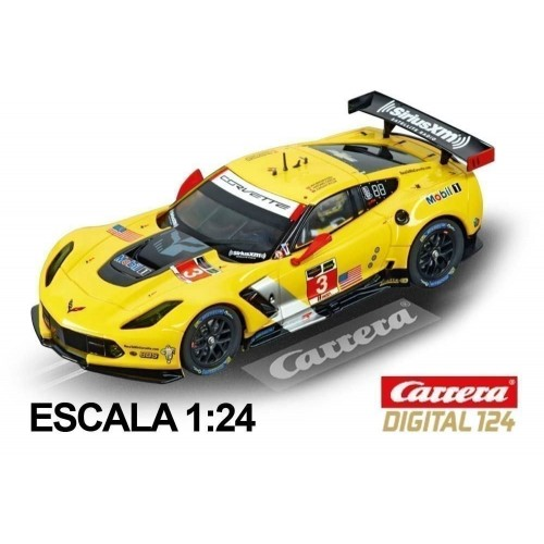 Coche Carrera Digital 124 Chevrolet Corvette C7R No 03