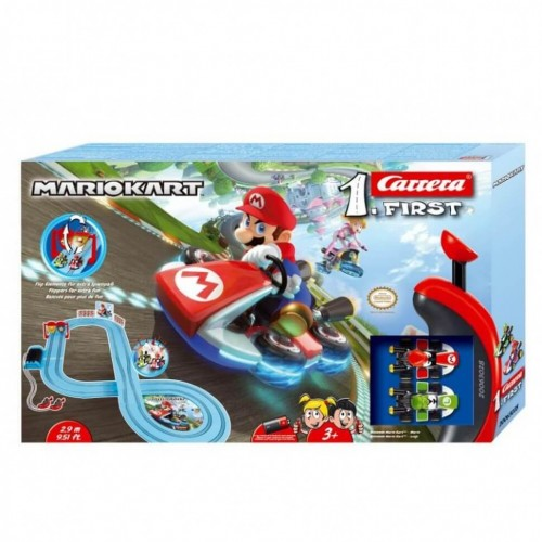 Circuito Carrera Primeiro Nintendo Mario Kart expandido