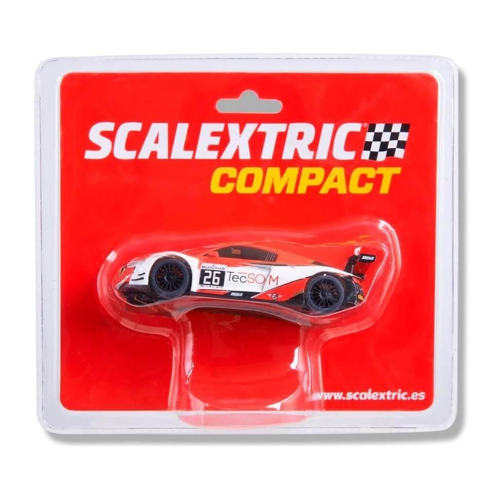 Coche de Scalextric Compact Audi R8 LMS GT3 TecSom