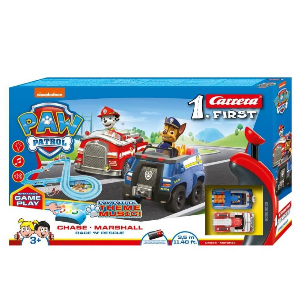 Circuito Carrera First Paw Patrol Race N Rescue