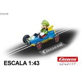 Coche Carrera Go Nintendo Mario Kart Mach 8 Luigi