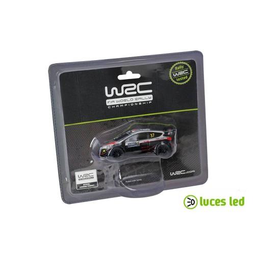 Coche de slot 1:43 Ninco WRC Ford Fiesta con Luces