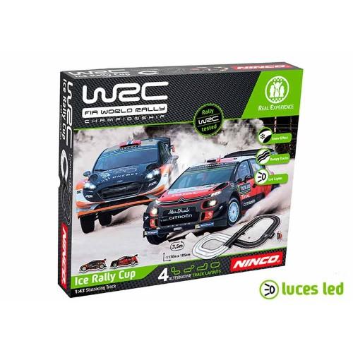 1:43 slot circuit Ninco WRC Ice Rally Cup