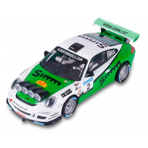 Coche de Scalextric Digital Advance Porsche 911 RALLY Orriols