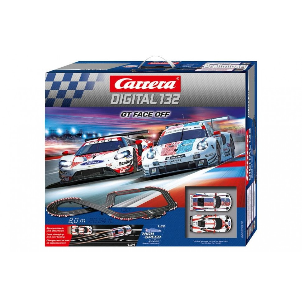 Circuito Carrera Digital 132 GT Face Off