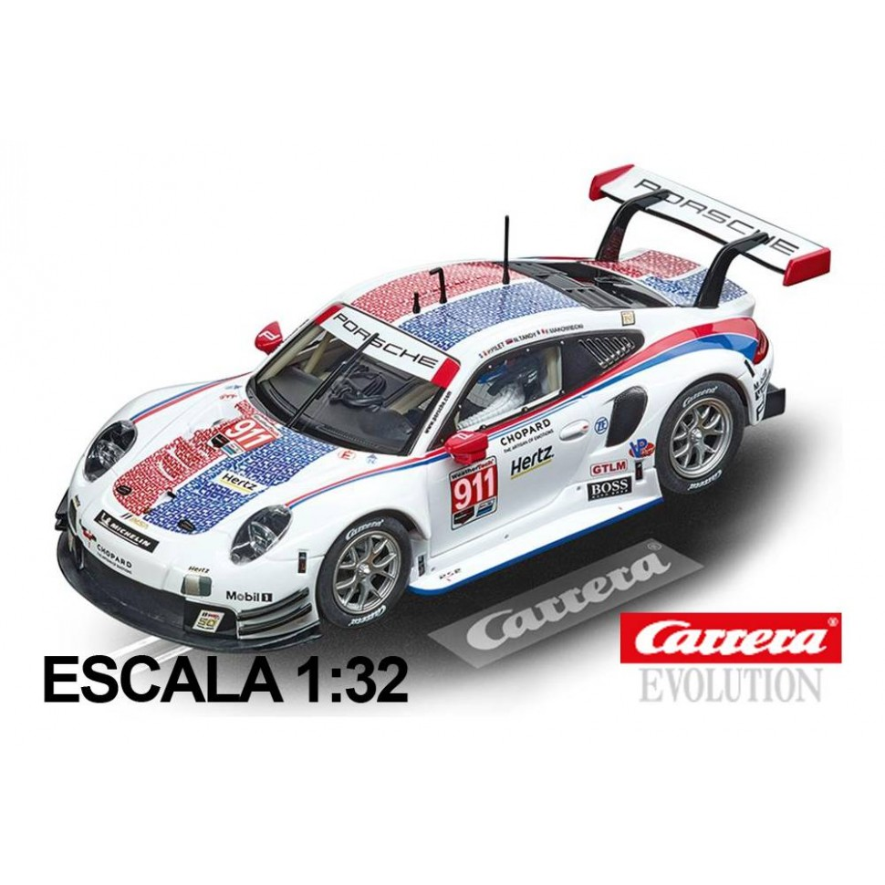 Coche Carrera Evolution Porsche 911 RSR Porsche GT Team