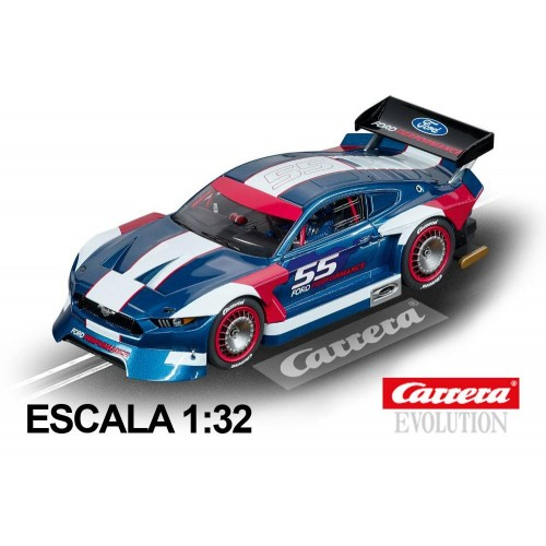 Carro Carrera Evolution Ford Mustang GTY n55