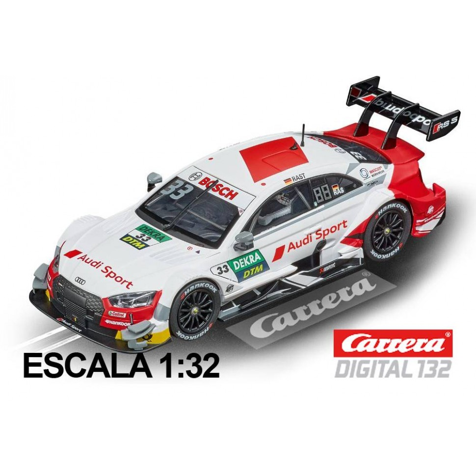 Coche Carrera Digital 132 Audi RS5 DTM Rast n 33