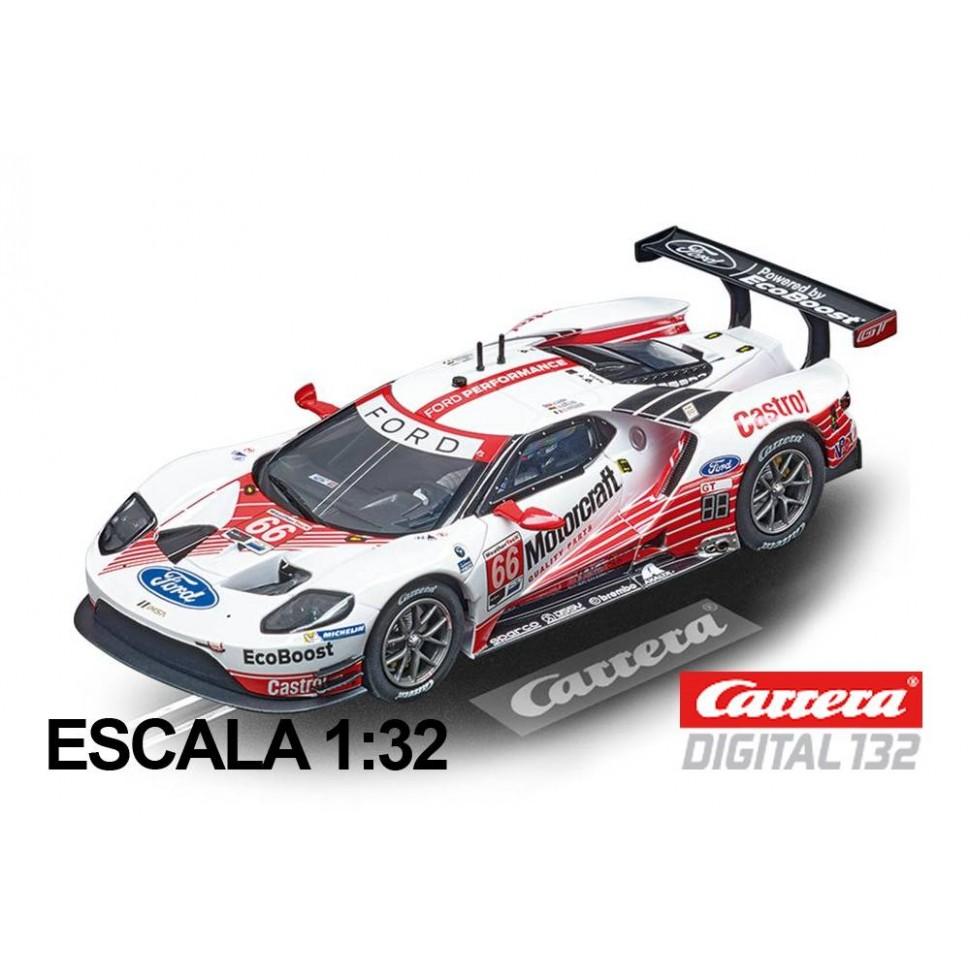 Coche Carrera Digital 132 Ford GT Race Car n66