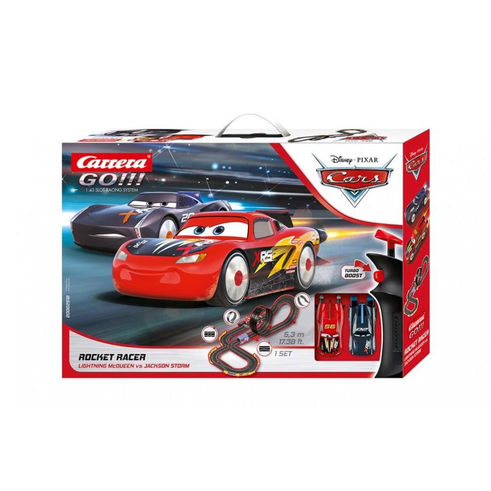 Circuito Carrera Go Disney Cars Rocket Racer