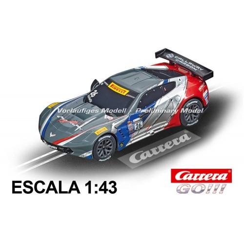 Coche Carrera Go Chevrolet Corvette C7R GT3 Callaway USA