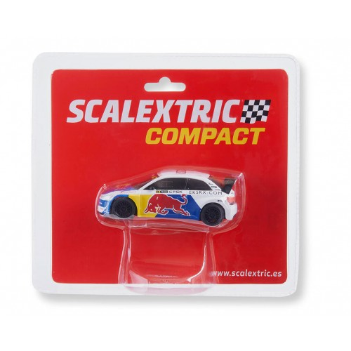 Carro Scalextric Compact Audi S1 WRX Red Bull