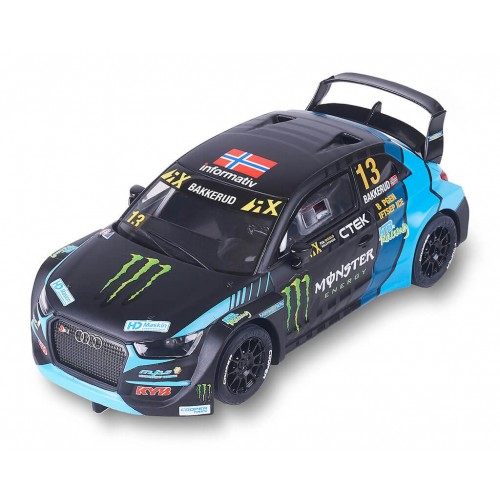 Coche de Scalextric Analogico Audi S1 WRX Monster