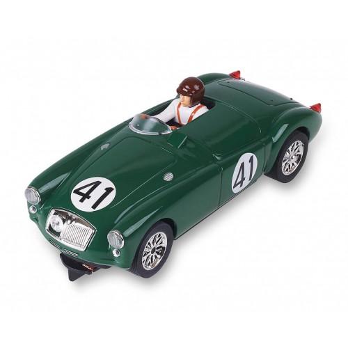 Carro Analógico Scalextric MG A 1955 Le Mans