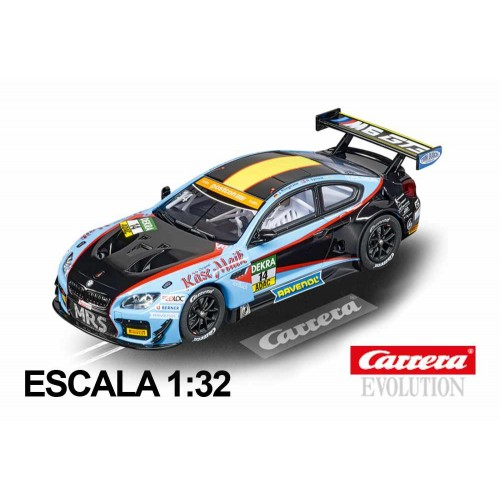 Carro de corrida Carrera Evolution BMW M6 GT3 Molitor