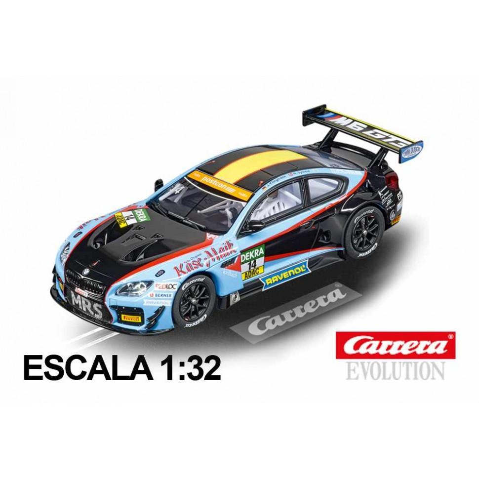 Coche Carrera Evolution BMW M6 GT3 Molitor Racing