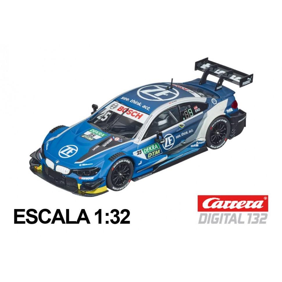 Coche Carrera Digital 132 BMW M4 DTM Eng n25