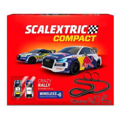 Circuito sem fio Scalextric Compact Crazy Rally