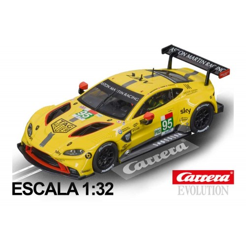 Coche Carrera Evolution Aston Martin Vantage GT n95