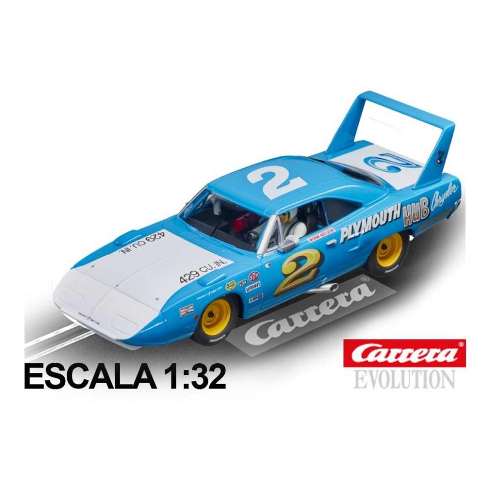 Coche Carrera Evolution Plymouth Superbird n2