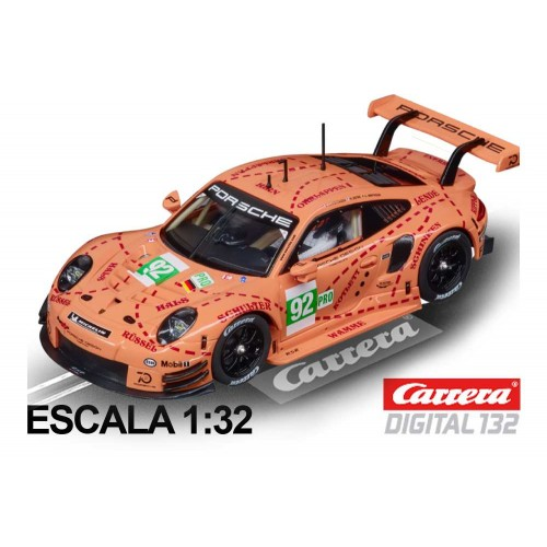 Coche Carrera Digital 132 Porsche 911 RSR Pink Pig n92