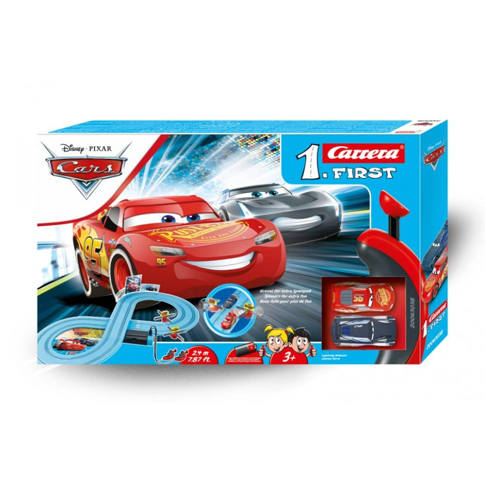Circuito Carrera First Disney Cars Power Duell