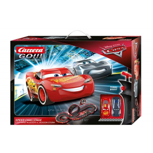 Circuito Carrera Go Disney Cars Speed Challenge