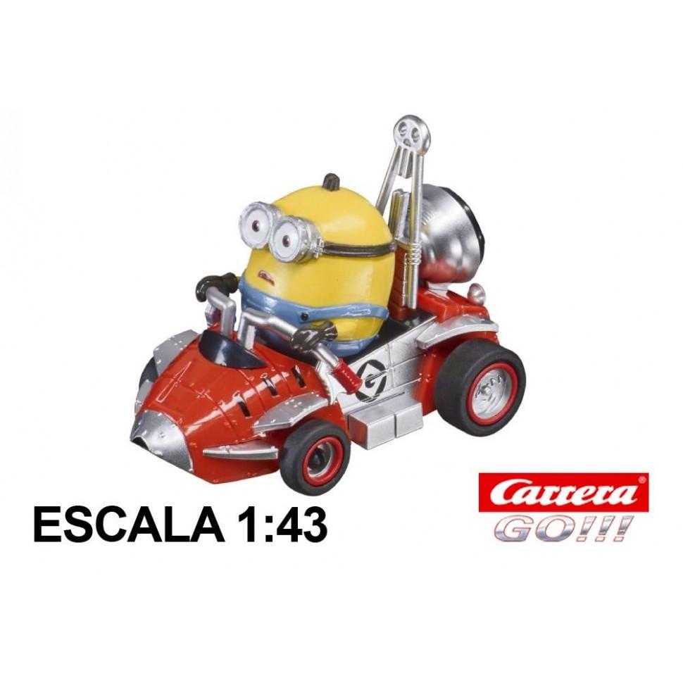 Coche Carrera Go Minions Otto