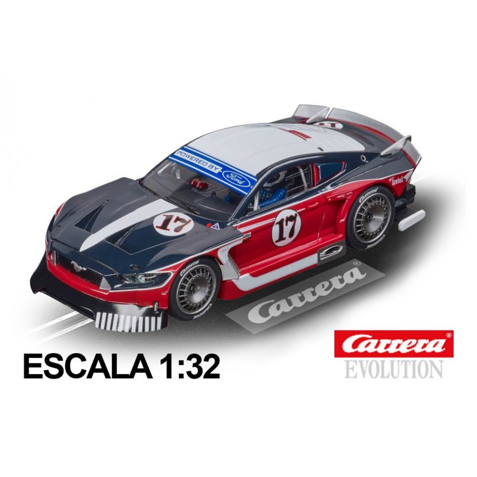 Coche Carrera Evolution Ford Mustang GTY n17