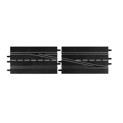 Pista cambio de carril derecha Carrera Digital 132-124