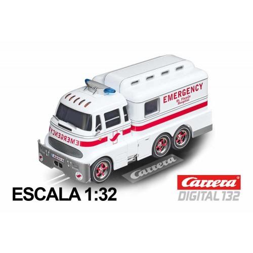 Coche Carrera Digital 132 Carrera Ambulance
