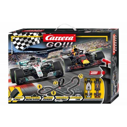 Velocidade máxima do circuito Carrera Go