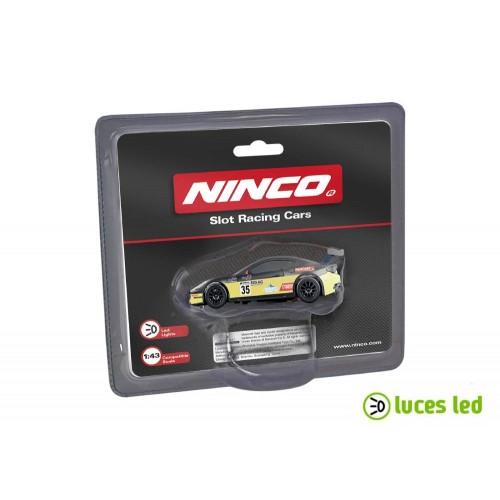 1:43 slot car Ninco Maserati Yellow
