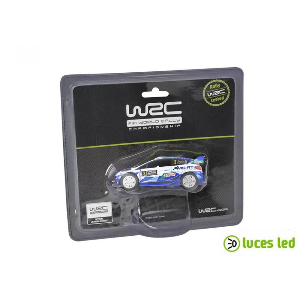 Coche de slot 1:43 Ninco WRC Ford Fiesta 2020 con luces
