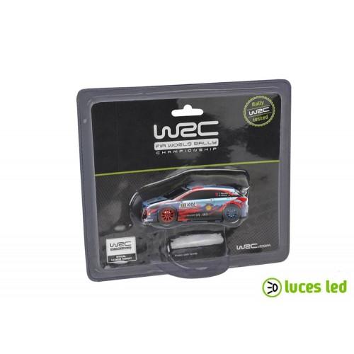 1:43 slot car Ninco Hyundai I20 WRC Neuville