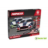 Circuito de slot 1:43 Ninco GT Tridente Wireless