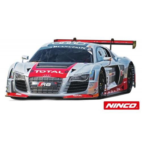 Coche de Slot Ninco Analogico Audi R8 Plata Blancpain n2