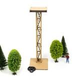 Torre de luces led simple de Madera Circuito de Slot
