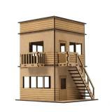 Torre de Prensa de Madera Circuito de Slot