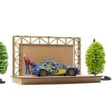 Plataforma de Exhibicion de Madera Circuito de Slot