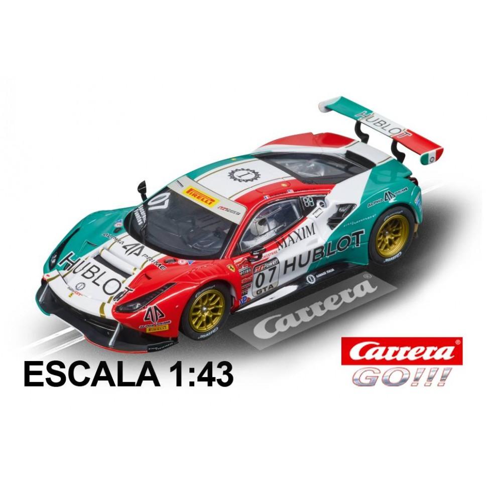 Coche Carrera Go Ferrari 488 GT3 Squadra Corse Garage Italia n7