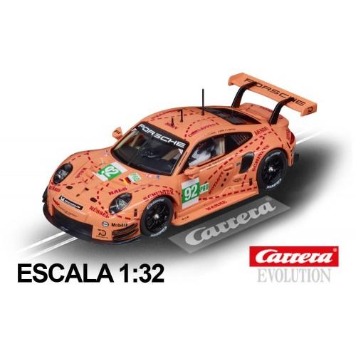 Carro Carrera Evolution Porsche 911 RSR Pink Pig Design n92