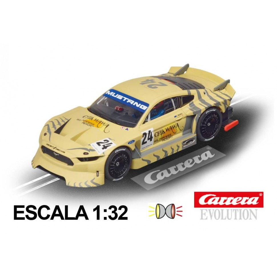 Coche Carrera Evolution Ford Mustang GTY n24