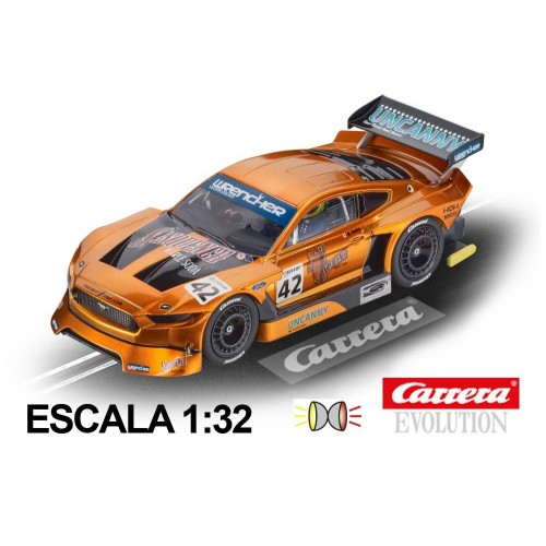 Coche Carrera Evolution Ford Mustang GTY n42