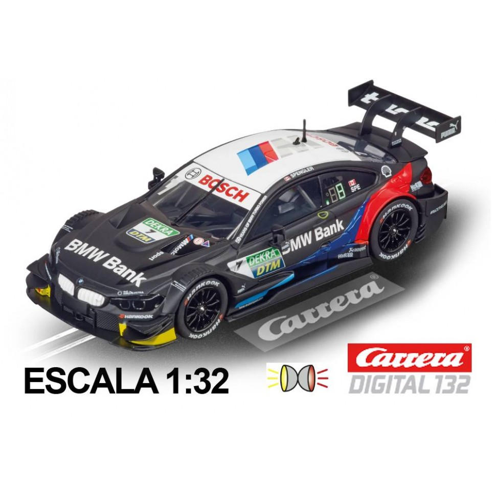Coche Carrera Digital 132 BMW M4 DTM Spengler n7
