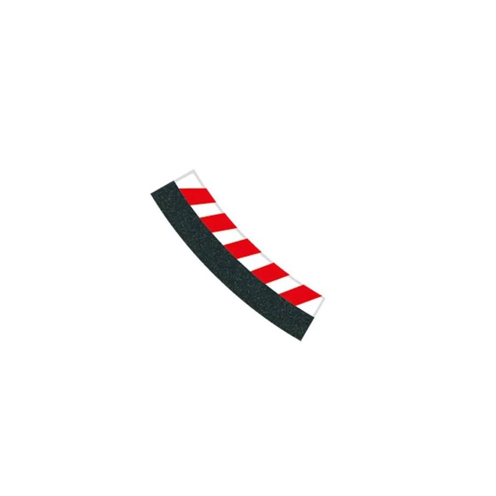 Borde interior curva 3/30° 6ud Carrera 132-124